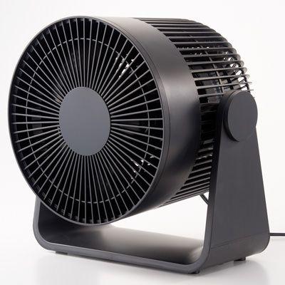 サーキュレーター 低騒音ファン ブラック型番 mj cf18jp b 通販 無印良品 サーキュレーター 無印良品 無印