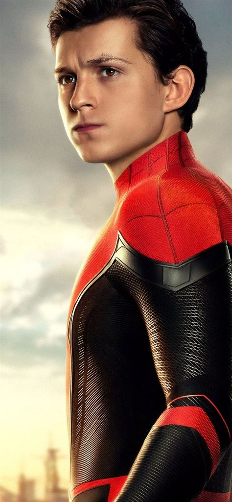 tom holland as peter parker spider man far from ho... iPhone 11 Wallpapers