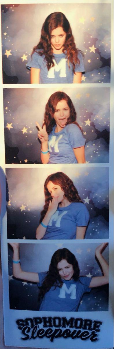 Sophomore Sleepover photo booth pics 😎