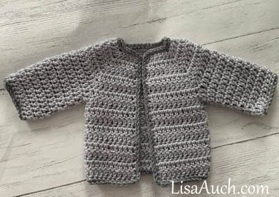 Free Crochet Pattern For Newborn Baby Cardigan Easy Crochet Baby Sweater Pattern Crochet Baby Cardigan Free Pattern Crochet Baby Cardigan