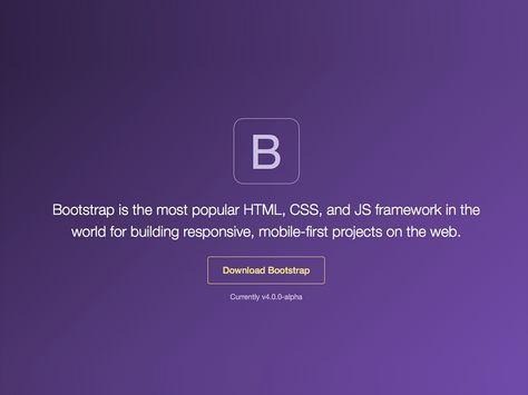 Bootstrap 4 Tutorial Create A One Page Template Web Development Design Css Tutorial Web Design