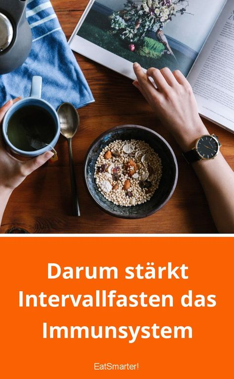 Darum stärkt Intervallfasten das Immunsystem | eatsmarter.de