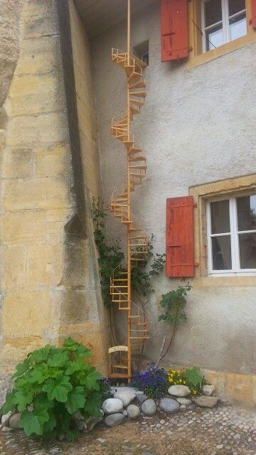 Cat ladder - beautifully done - Echelle pour chat