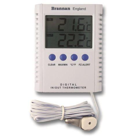 Brannan Masons Hygrometer Wet /& Dry Bulb C/&F