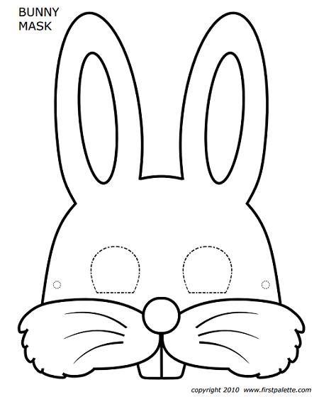 Caretas para imprimir y colorear | Caretas de animales, Mascara de ...