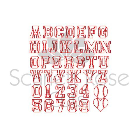 Free Jersey Numbers Svg Free Fonts For Cricut Numbers Font Jersey Numbers