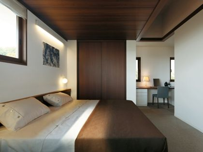 ミサワホーム 木調の天井で落ち着ける マスターベッドルーム