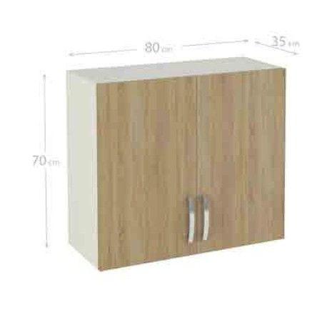 Mueble cocina alto de 80 para colgar con 2 puertas en varios ...