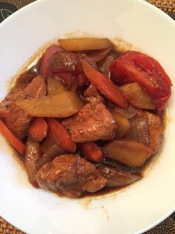 Resep Semur Kentang Dan Daging Babi Oleh Ivysfoodcorner Resep Daging Babi Kentang Masakan