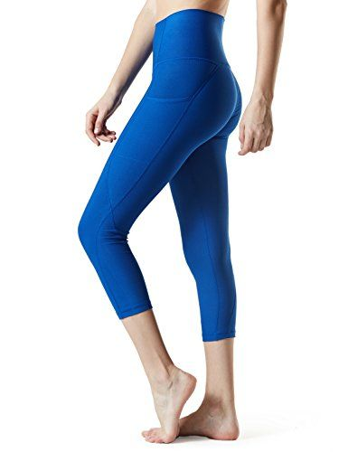 1e51558a78949b Sejora Satina High Waisted Super Soft Capri Leggings - 20 Colors - reg & Plus  Size (One Size, Navy)   Leggings   Capri leggings, Leggings, Pants
