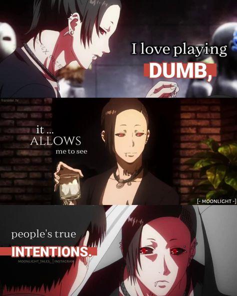 Sad Anime Quotes, Manga Quotes, Funny True Quotes, Epic Quotes, Tokyo Ghoul Quotes, Tokyo Ghoul Wallpapers, Anime Rules, Believe Quotes, Savage Quotes