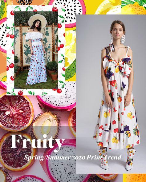 Spring/Summer 2020 Print & Pattern Trend - Fruity