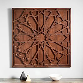 Graphic Wood Wall Art Whitewashed Square Wood Wall Art Inspirational Wall Art Medallion Wall Art