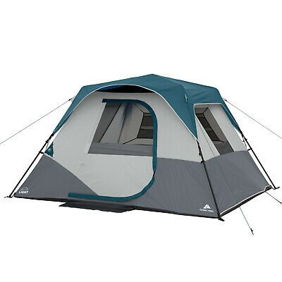 Advertisement Ebay 6 Person Instant Cabin Tent With Led Light Ozark Trail Tent Cabin Tent Ozark Trail