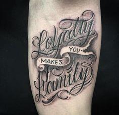 Tattoo Font Ideas for Men
