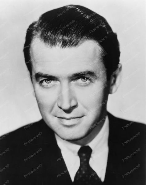 James Stewart 1950s Classic Portrait  8x10 Reprint Of Old Photo - James Stewart 1950s Classic Portrait  8x10 Reprint Of Old Photo
