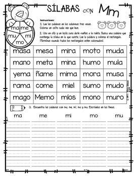 Yo Aprendo Las Silabas Ruleta De Palabras Ensenanza De Las