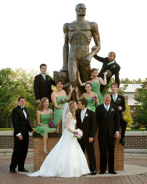 MSU Sparty photos - Tammy Sue Allen Photography #wedding #photography
