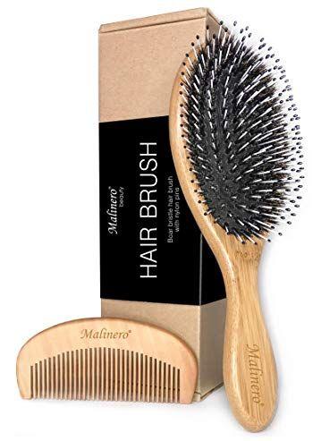 Boar Bristle Hair Brush Hair Brush Set For Men Women Boar