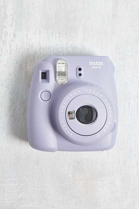 Pastel Purple Instax Mini Camera Fujifilm Instax Polaroid
