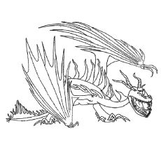 How to Train Your Dragon Coloring Pages - Free Printable ...
