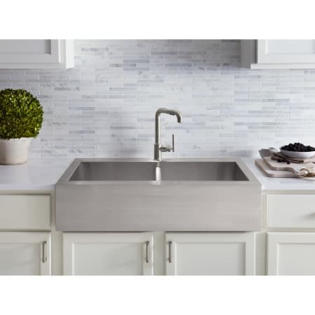 Kohler K 3944 1 Stainless Steel Farmhouse Sink Stainless Steel
