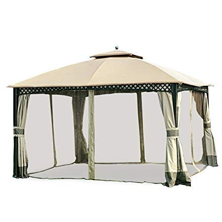 Garden Winds Replacement Canopy And Netting Set For Windsor Dome Gazebo Riplock 350 In 2020 Gazebo Canopy Gazebo Replacement Canopy Gazebo
