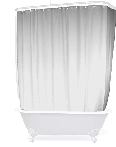 D L Extra Wide Vinyl Shower Curtain For A Clawfoot Tub Wh Https