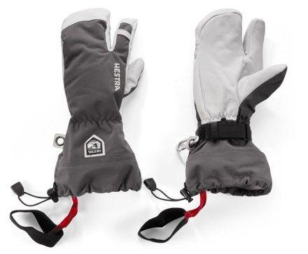 Hestra Gloves Heli Three Finger Insulated Gloves Hestra Gloves