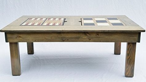 Coffee Table Game Table Features 4 Games Indoor Or Outdoor