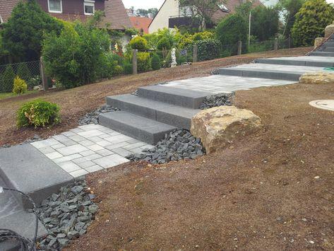 Mauern, Treppen, Garten Marohn \ Binder Gartengestaltung in - mauersteine antik diephaus
