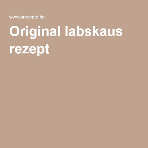 Original labskaus rezept