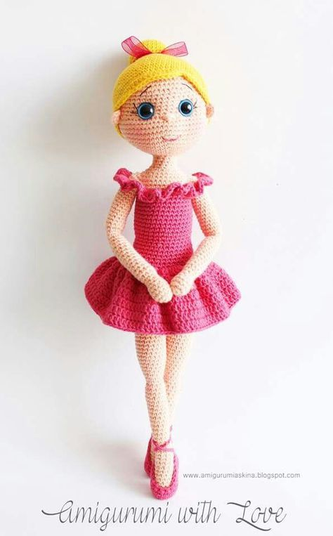 Boneca amigurumi tamanho M - YouTube | 763x474