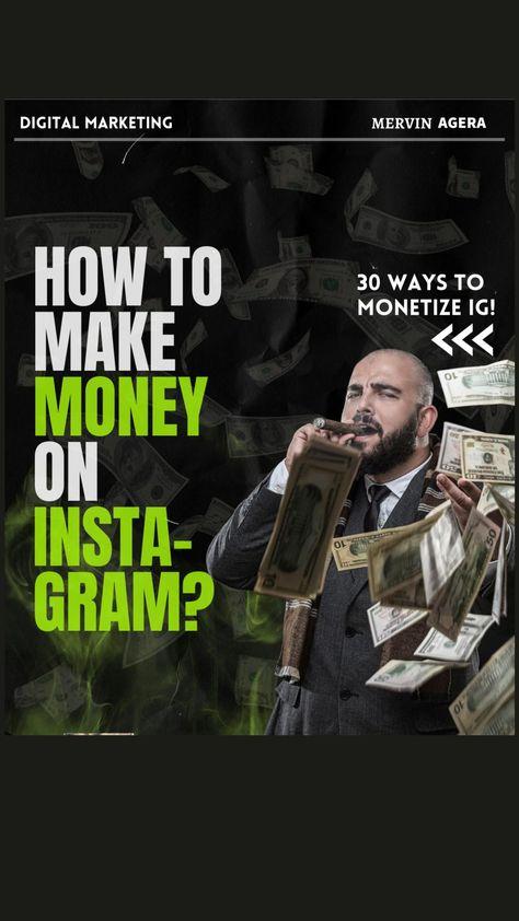 How to Monetize Instagram | Ways to make Money on Instagram | Digital Marketing Tips |