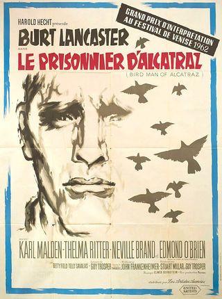 Birdman Of Alcatraz 1962 French Grande Poster Posteritati Movie