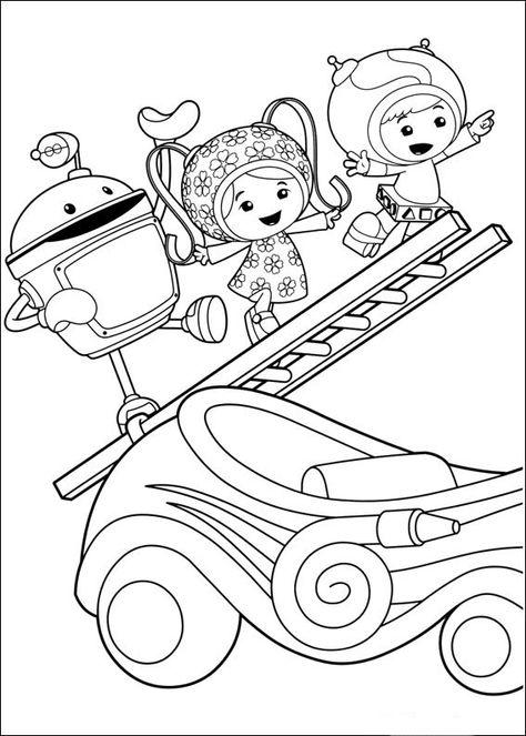 Kleurplaten Van Umizoomi.Umizoomi Kleurplaten Voor Kinderen Kleurplaat En Afdrukken
