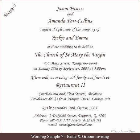 Sample Of Wedding Invitation Awesome 12 Sample Wording For Wedd In 2020 Wedding Invitation Quotes Wedding Invitation Wording Examples Indian Wedding Invitation Wording