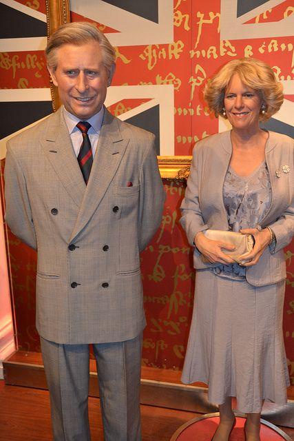 Madame Tussauds - London Prince Charles and Camilla