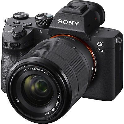 Details About Sony A7iii Full Frame Mirrorless Interchangeable Lens Camera With 28 70mm Open Digital Lenses Sony Digital Camera Mirrorless Camera