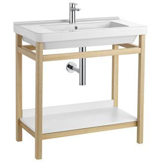 Estructura Base 85cm Natura Roca In 2020 Bathroom Assessories Bathrooms Remodel Bathroom Vanity