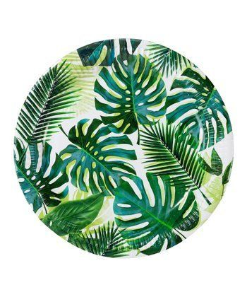 Palm Tree Dinner Plates Talking Tables Dinner Plates Tropical
