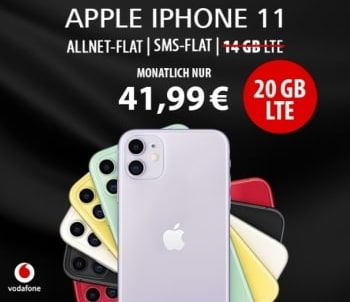 5gb Lte Vodafone Smart L Mit Apple Iphone 8 Fur 149 In 2020 Iphone Apple Iphone Handyvertrag