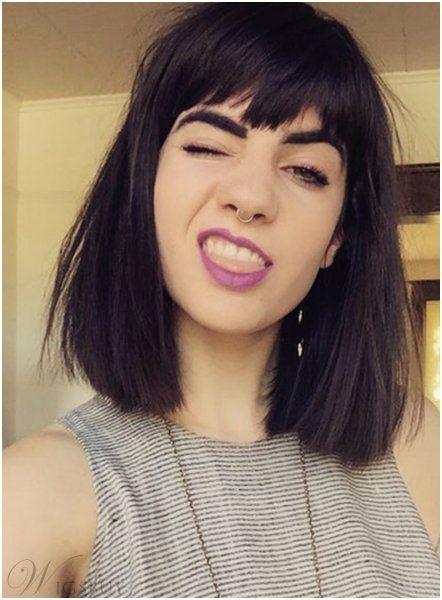 Medium Length Straight Hairstyles Ideas Grunge Hair Medium Length Hair Styles Long Hair Styles