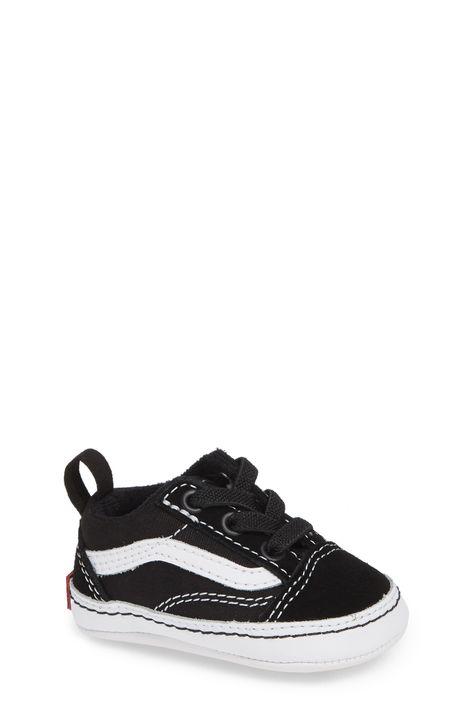 Infant Vans Old Skool Crib Shoe, Size 1