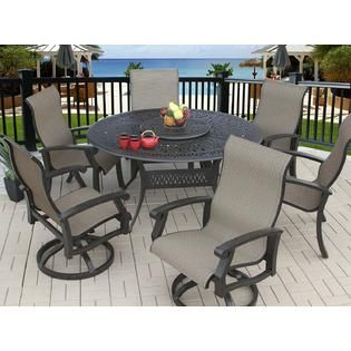 Round Patio Dining Sets For 6 In 2020 With Images Patio Dining Furniture Patio Patio Pavers Design