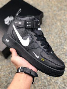 b0714170085a7 Nike Air Force 1 Low AF1 Lychee leather OW White Black Mens Womens Running  Shoes