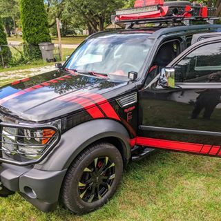 Have A Good Weekend Dodge Nitro Dodgenitro Nitrobrigade Mopar Moparornocar Frontendfriday Ariesautomot With Images Dodge Nitro Nitro Mopar Or No Car