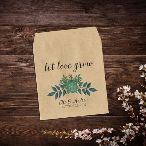 Let Love Grow Favor, Wedding Favor, Seed Packet #letlovegrowfavor #weddingfavor #seedpacketfavor #customweddingfavor #blueflowers #rusticweddingfavor #weddingseedpackets #personalizedfavor #letlovegrow #seedpackets #seedweddingfavors #seedenvelopes #weddingfavorsseeds