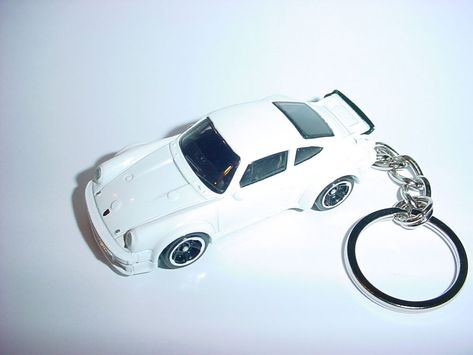 New 3d Porsche 934 Turbo Rsr Custom Keychain Keyring Key Racing
