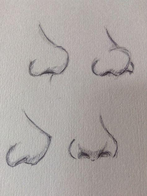 Nose practice, looks a bit dodgy XD